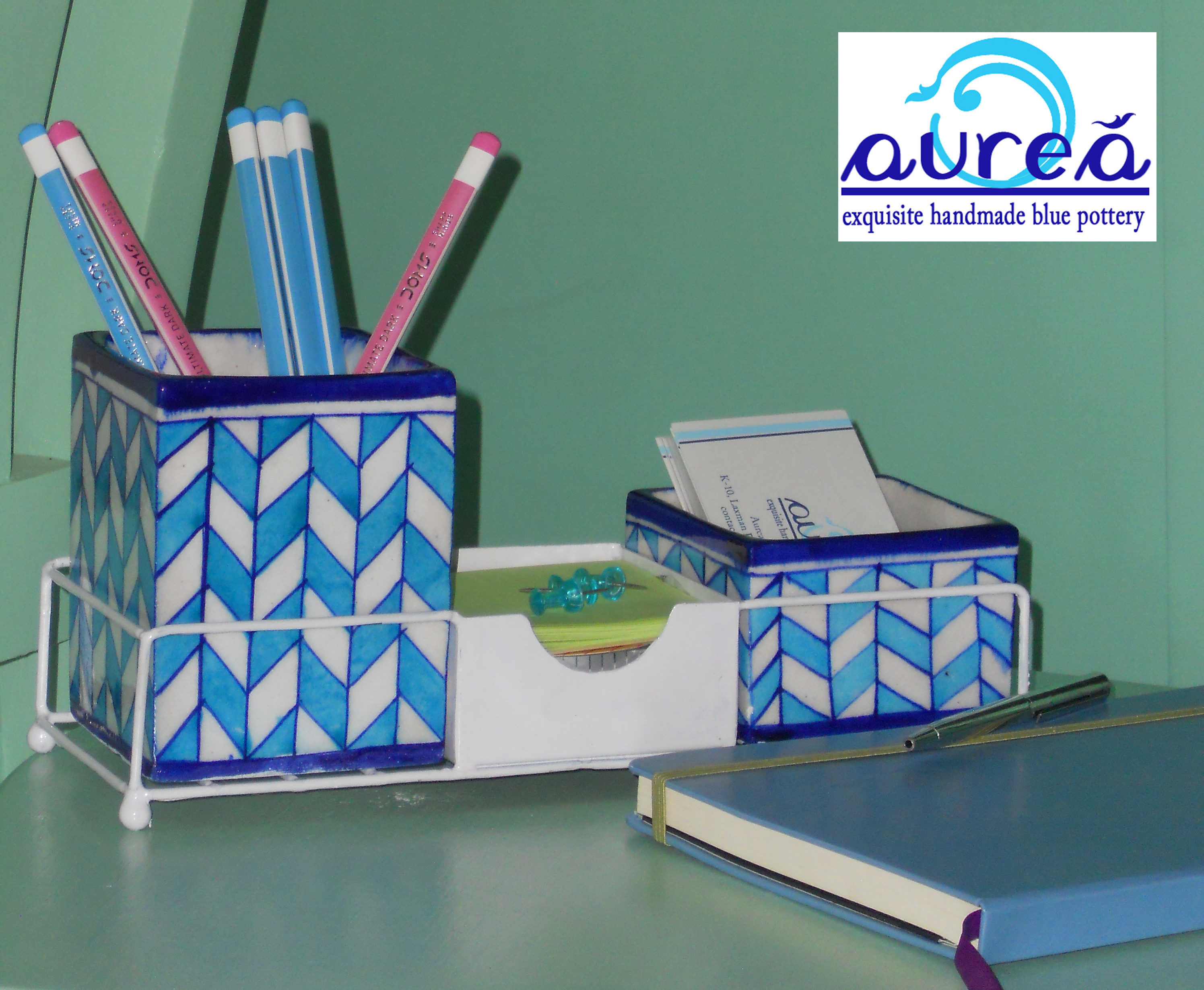 Desk organizer set