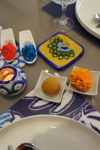 Aurea Blue Pottery Home Styling for Holi